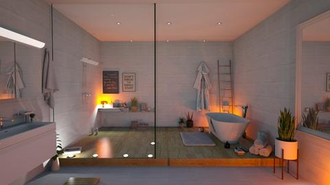 Calm - Bathroom  - by KittyT6