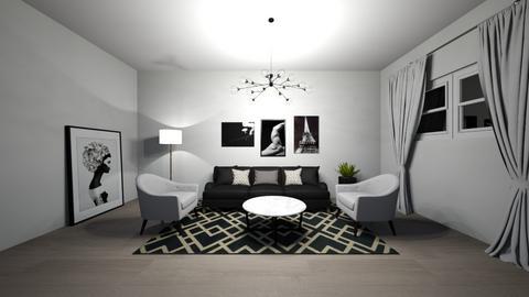 grey - Modern - Living room  - by makanylili