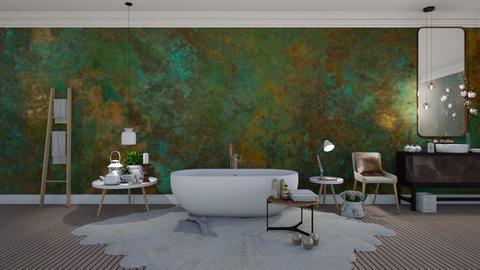 Elise - Minimal - Bathroom - by Claudia Correia