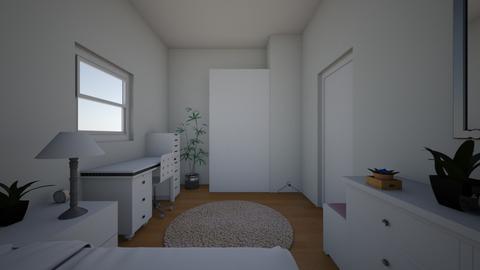 tamarahateclub - Bedroom  - by mayarosenmann