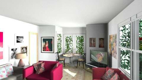 Talbot road 5 - Global - Living room - by cleyenne