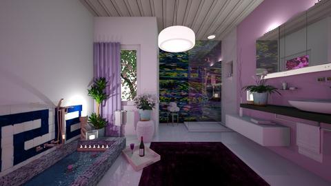 Lily Pond bathroom - by Themis Aline Calcavecchia