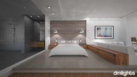 Atlantic Garden - Bedroom  - by DMLights-user-982267