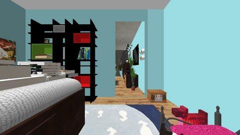 Home Cinema and Bar - Modern - Kids room - by kasum9430