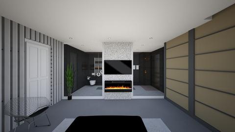 masterbedroom5 - Modern - Bathroom  - by yaara shemesh