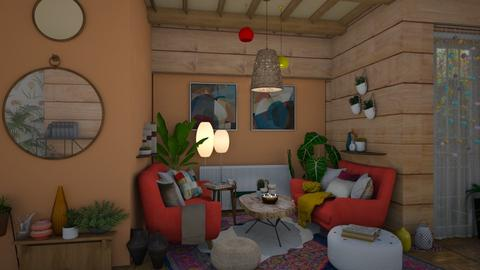 Vibrant Livin - Eclectic - Living room  - by i l o n a