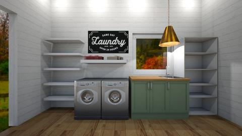 laundry room  - by tessmcquillan