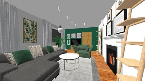salon zielony 2e - by edyta_367