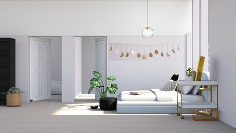goldwhiteblack - Bedroom  - by MillieBB_fan