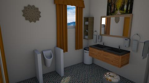 Mens Rooom - Modern - Bathroom  - by alonatech_2nd