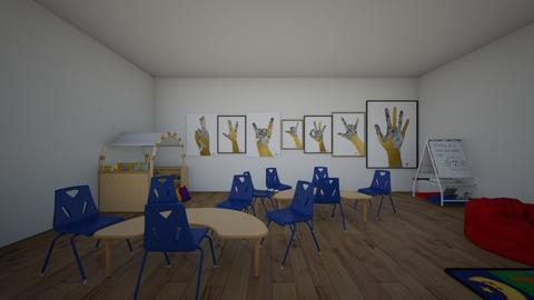 Language and Literacy  - Kids room  - by JDaamen