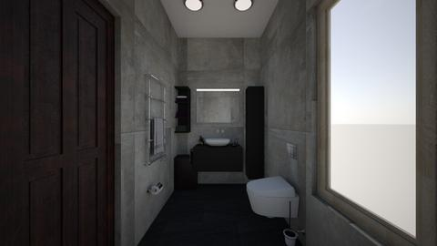 Bathroom - Minimal - Bathroom  - by leyaaa