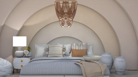 organic c u r v e s - Bedroom  - by myz_design