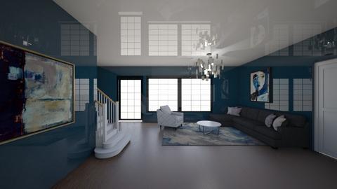2257 Adam Clayton Powell Jr Blvd - Living room  - by sfurkan