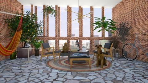 Midsummer Balcony - Eclectic - Garden  - by katarina_petakovi