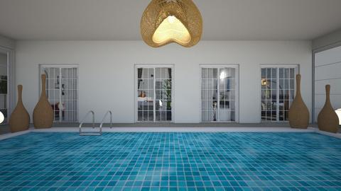 Eclectic_swimming pool3 - Garden  - by lovasemoke