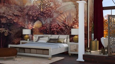 Room wall - Bedroom  - by soralobo