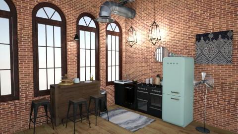 studio apartment  - by Alexandra Ritchey
