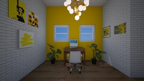 Yellow office - Office  - by rockeld