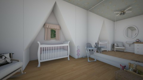 Babys attic room - Country - Bedroom  - by _PeaceLady_