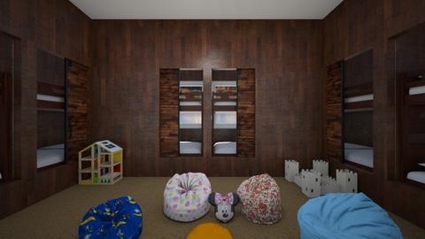 Kids Bunk Room - Kids room  - by SammyJPili