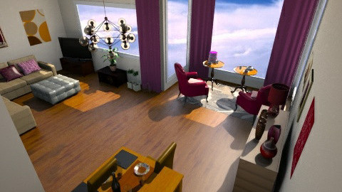 ozden salon 2 - Country - Living room  - by CARMEND70