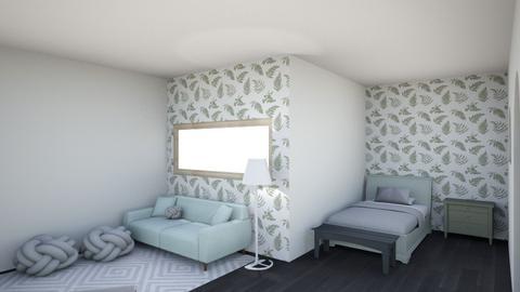 Fern room - Bedroom  - by Sparrowmoon