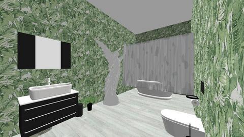 bathroom - by Nyelarb