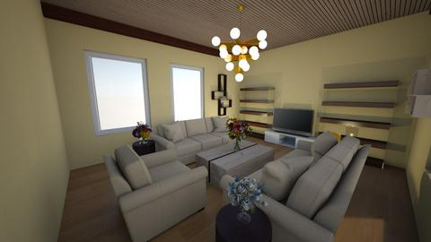Living room - Modern - Living room  - by Pizzahomestyler