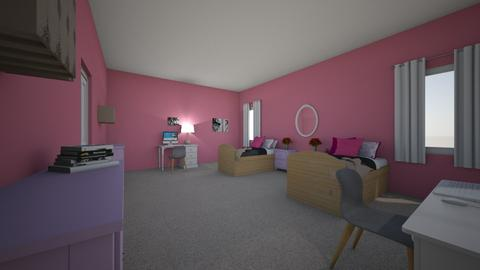 girls room - Kids room  - by LHSHousing
