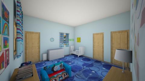 Nate_s Room7 - Kids room - by Robacki