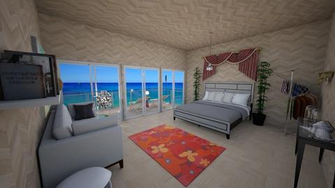 Beachy bedroom - Bedroom  - by DarkCrystal135