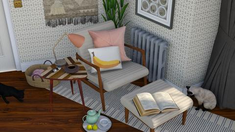 A corner to read - Vintage - Living room  - by HenkRetro1960