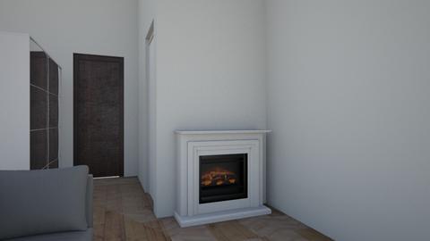 OUR HOUSE - Living room - by ewelinaglowinska