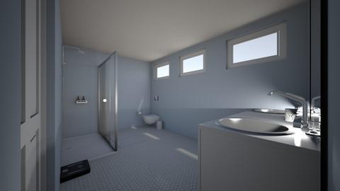 House_Design_2 Bathroom_1 - Modern - by CarlockE
