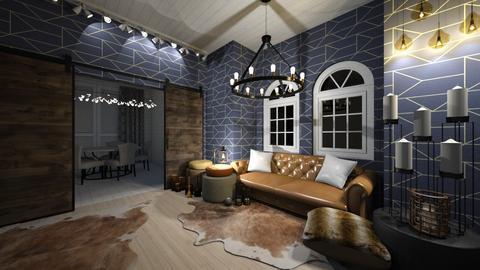 dining and livingroom - Rustic - Living room  - by thelmatt