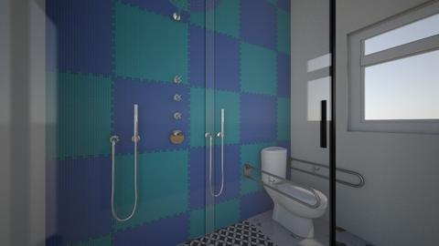 Palm Springs Master Bath  - Modern - Bathroom  - by Kkossol