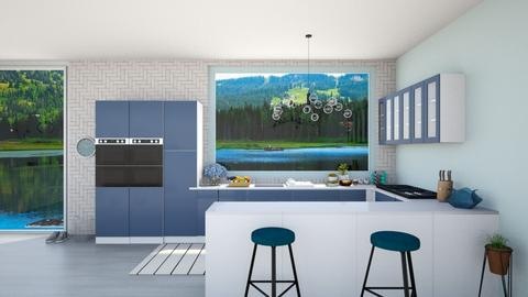 Remixed Room - Eclectic - Kitchen  - by Chayjerad