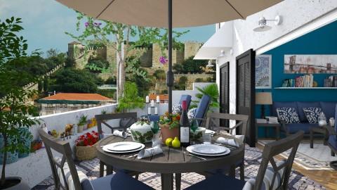 Lisbon Terrace - Global - Garden  - by Joao M Palla