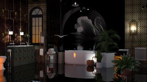 Swan Bathroom - Bathroom  - by Sue Bonstra
