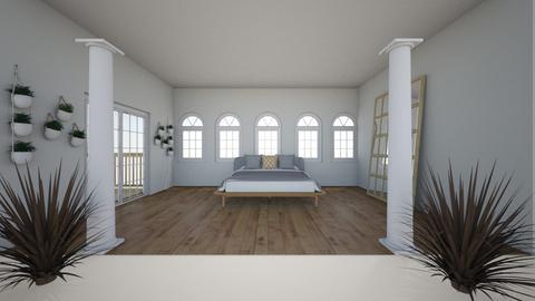 Attic Outdoor Bedroom - Modern - Bedroom  - by Zipintomyheart
