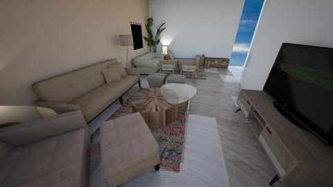 boho living room 1 - Living room  - by Ibti99