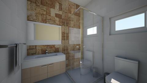 banheiro - Bathroom - by mayarapitta