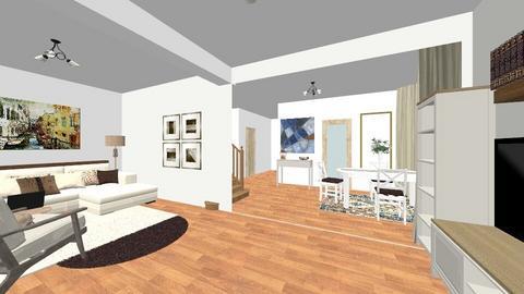 Living Corbeanca - Rustic - Living room  - by Flori Santa
