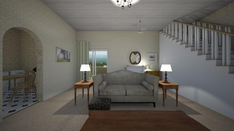 Compact Farmhouse - Living room  - by mspence03