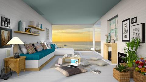 Sea Life - Bedroom  - by Ferplace