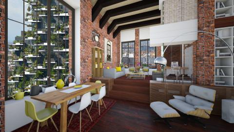 Evergreen - Modern - Living room  - by maja97