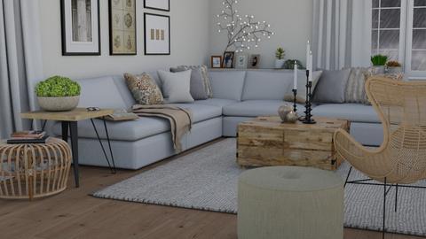Rainy day - Living room  - by Thrud45