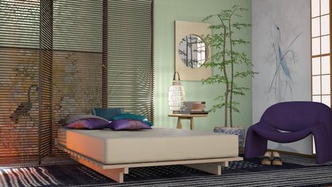 M_Taipei Futon - Bedroom  - by milyca8