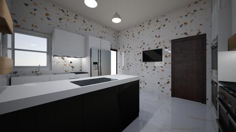 UKA REF MBAISE - Kitchen  - by jfx